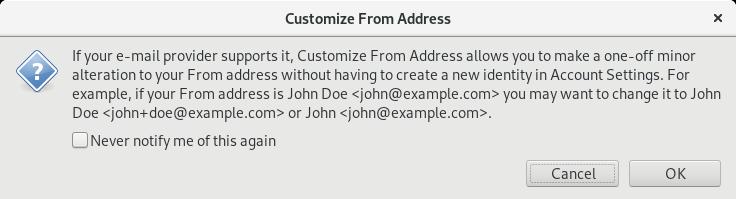 Nicht jeder E-Mail-Anbieter erlaubt das Versenden mit falschen Absender